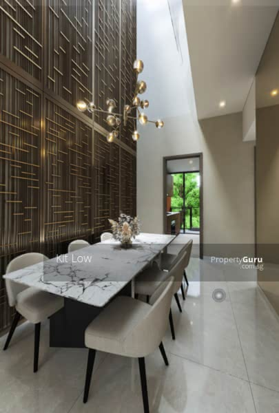 Modern Luxury Concept Strata House with Full Condo Facilities #128617526