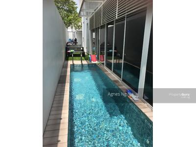 For Sale - ⭐⭐Landed7772@Nice house with swimming pool, convenient location
