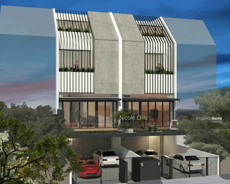 For Sale - ⭐️Freehold  brand new Kovan terrace with lift ⭐️ 4 mins walk to Kovan MRT⭐️