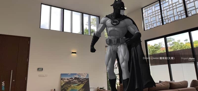 NFT Batman Says Double Volume Ceiling Height is Awesome Call David. 大胃 81394988 Now! #128677860