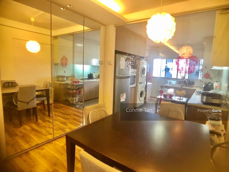 Well renovated dining area