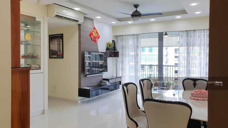 Beautiful Living Hall and Dining areas