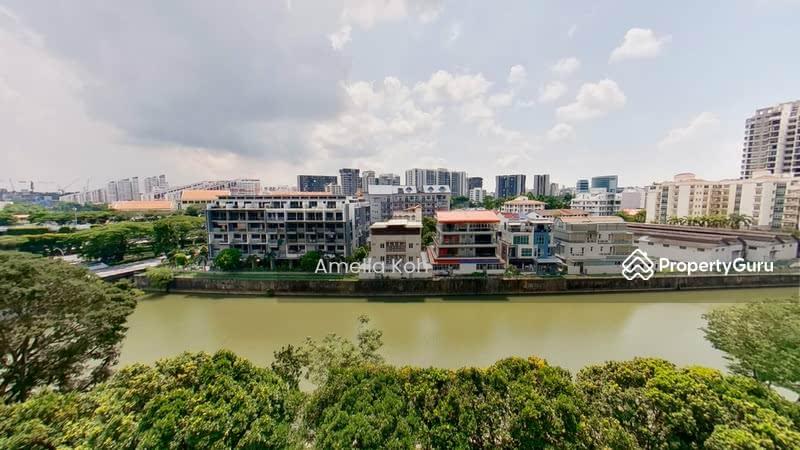 Lush Greenery and Kallang River Views from Balcony