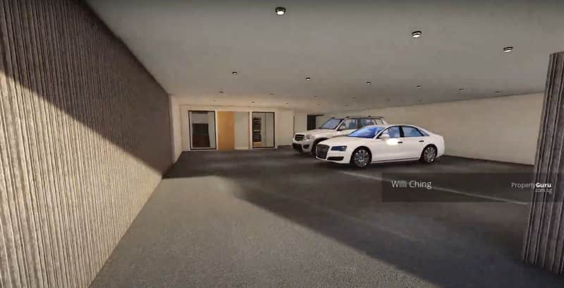 Carpark for 4 cars