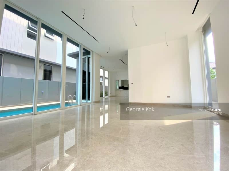 Brand New Detached House with Pool & Lift, Minutes Walk from Kembangan MRT #128954872