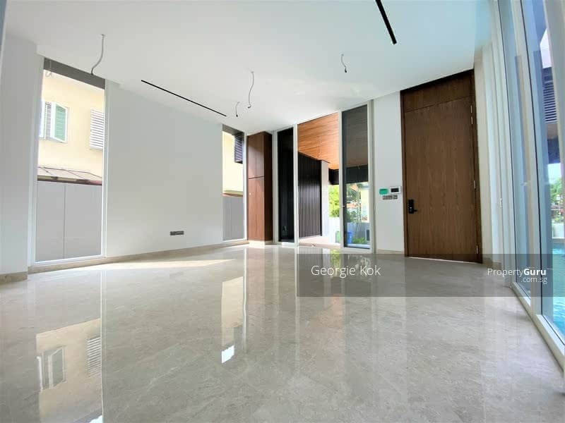 Brand New Detached House with Pool & Lift, Minutes Walk from Kembangan MRT #128954878