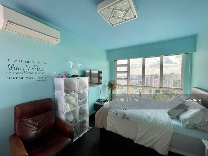 Spacious Master Bedroom with Panoramic View