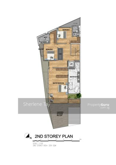 Brand New 2 Storeys Semi-D with Pool and Lift #129025784
