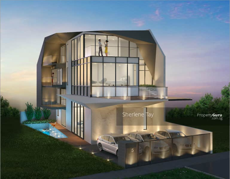 Brand New 2 Storeys Semi-D with Pool and Lift #129025712