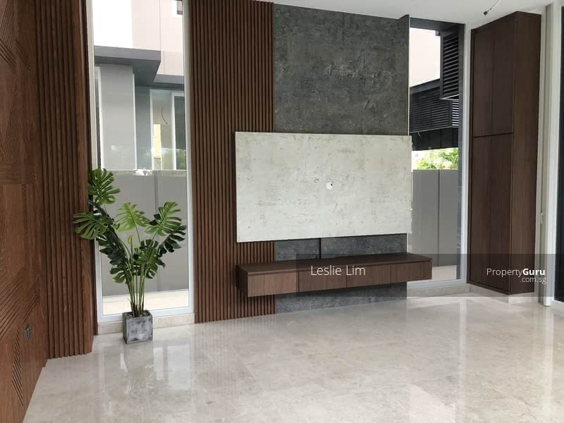 Walk to MRT, High Ceiling Brand New Bungalow Only $7.X Mil #129059378