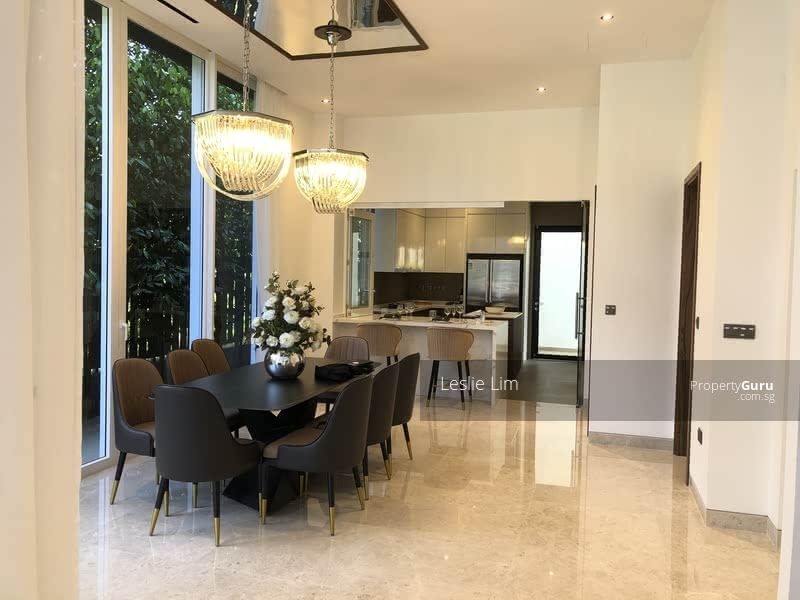 Walk to MRT, High Ceiling Brand New Bungalow Only $7.X Mil #129843204
