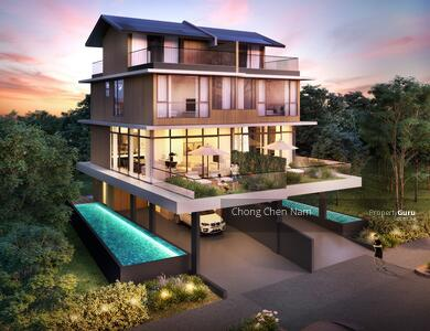 For Sale - D14 KEMBANGAN BRAND NEW 3. 5 STOREY SEMI-D WITH LIFT & POOL. 5 EN-SUITE. WITHIN 1KM TO MAHA BODHI SCH