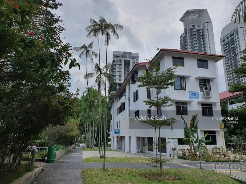Rare! Tiong Bahru Est(SIT Flat)- 48 Moh Guan Ter-3S-Walk up #02/Corner-Face Park-Dun Miss! #129176798