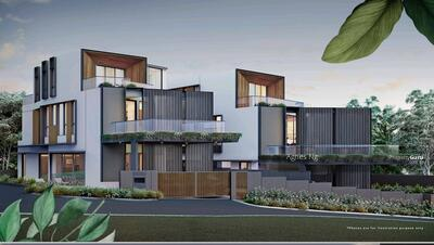 For Sale - ⭐⭐Landed7772@Luxurious Brand New Bungalow, Glass Bricks Home Within 1Km to SCGS.