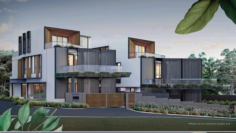 ⭐⭐Landed7772@Luxurious Brand New Bungalow, Glass Bricks Home Within 1Km to SCGS. #129217940