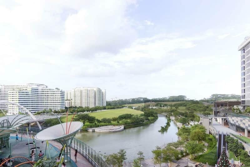 Panoramic View of My Waterway @ Punggol