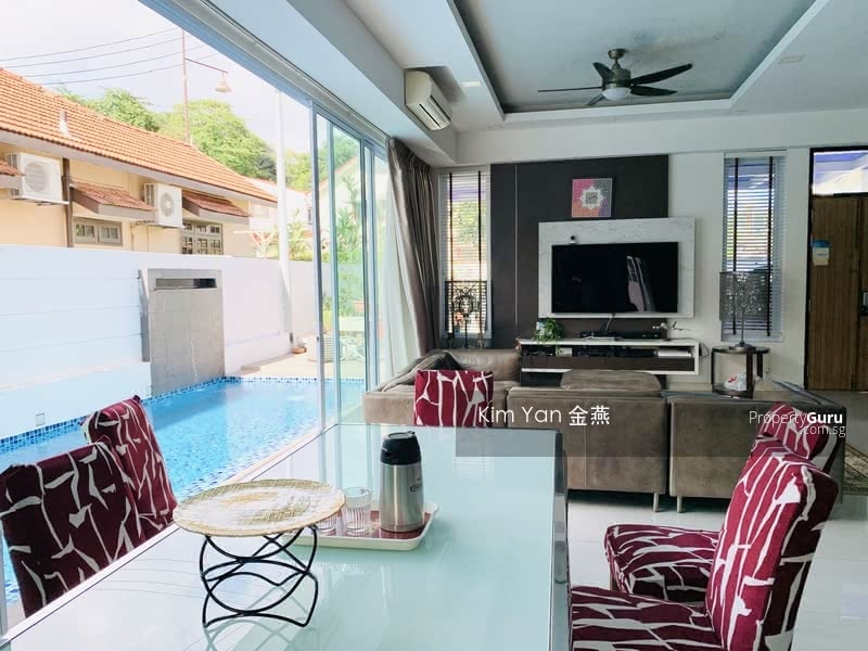 For Sale - Freehold Semi-D with Lift and Swimming Pool, Basement with big entertainment hall/gym room