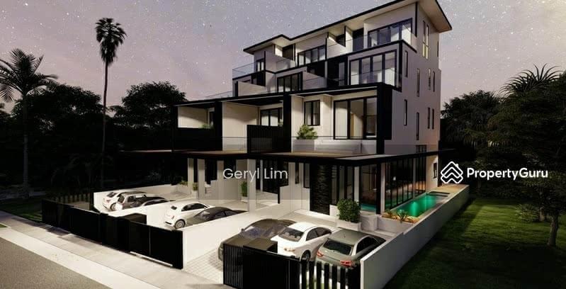 ⭐️⭐️ LANDED7772@ Last Brand New Corner Terrace With Pool & Lift #129541320