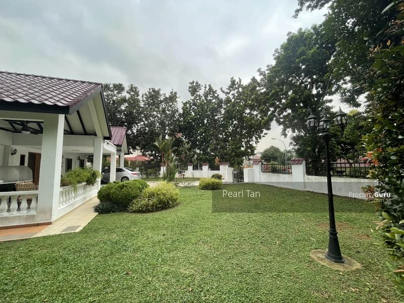❤️❤️RS EXCLUSIVE ELEVATED SQUARISH WIDE DUAL FRONTAGE SINGLE STY BUNGALOW IN GCB AREA ☎️91890081 #129617354