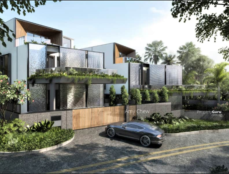 Luxurious Brand New Bungalow with Lift and Pool. Hermes Special Glass Brick Facade #129602306