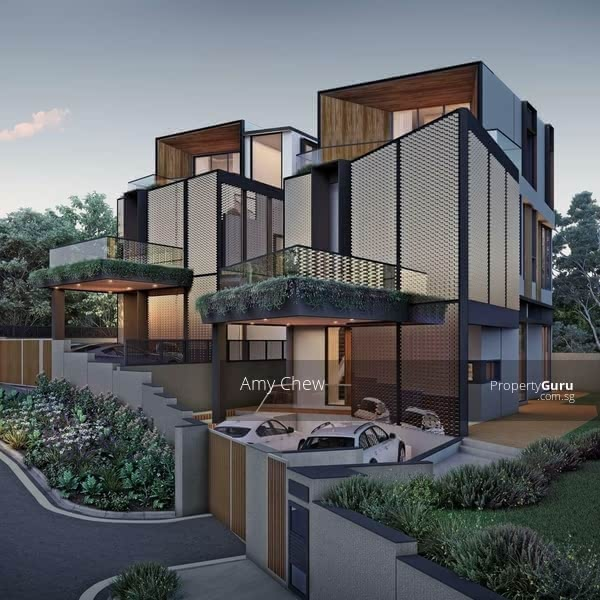 Luxurious Brand New Bungalow with Lift and Pool. Hermes Special Glass Brick Facade #129602308