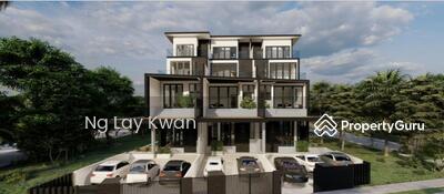 For Sale - ⭐TOP Notch Quality⭐D14 - Brand New 3. 5 Storey Corner Terrace @ Kembangan Estate Lorong Salleh