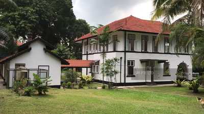 For Rent - Gorgeous Black and White Colonial Bungalow at Mount Pleasant Road