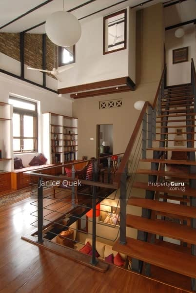 upstair study area
