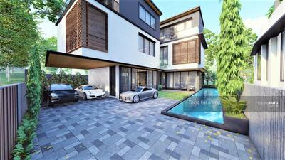 For Sale - ⭐️AWESOME ! ! BRAND NEW FH 2. 5 Sty Bungalow, 1-km ACS Barker, 10min Walk MRT,  Lap Pool, Lift, B/ment