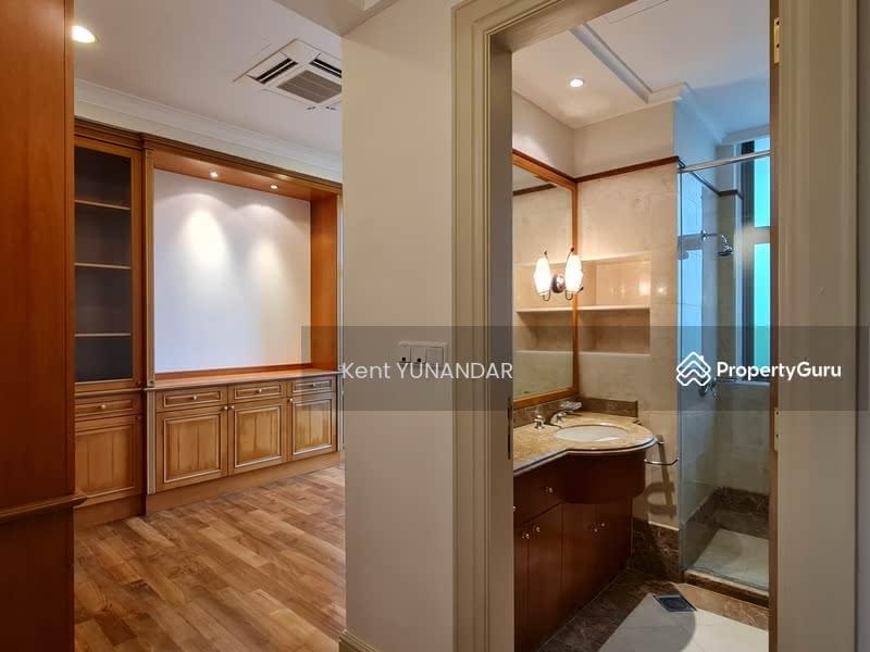 Study room on lower floor with ensuite bathroom.