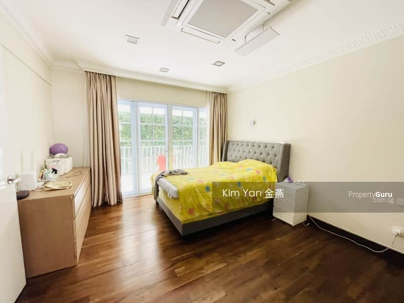 Rare Freehold GCB with Good Move-in condition, Swimming Pool and Lush Greenery at Elevated Ground #129899248