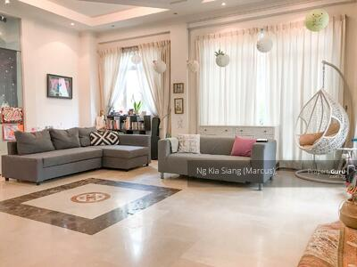 For Rent - 3 Storey Bungalow with Swimming Pool Near Singapore American School