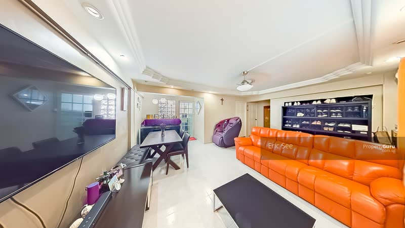 Wide Space Living Area