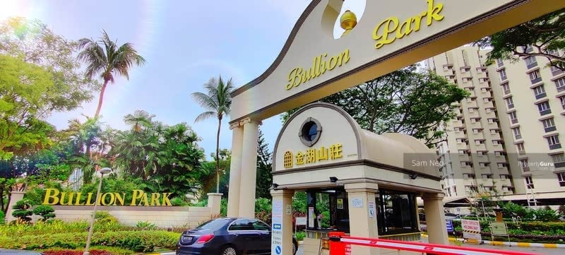 Grand Entrance with Iconic Bullion Park Arch