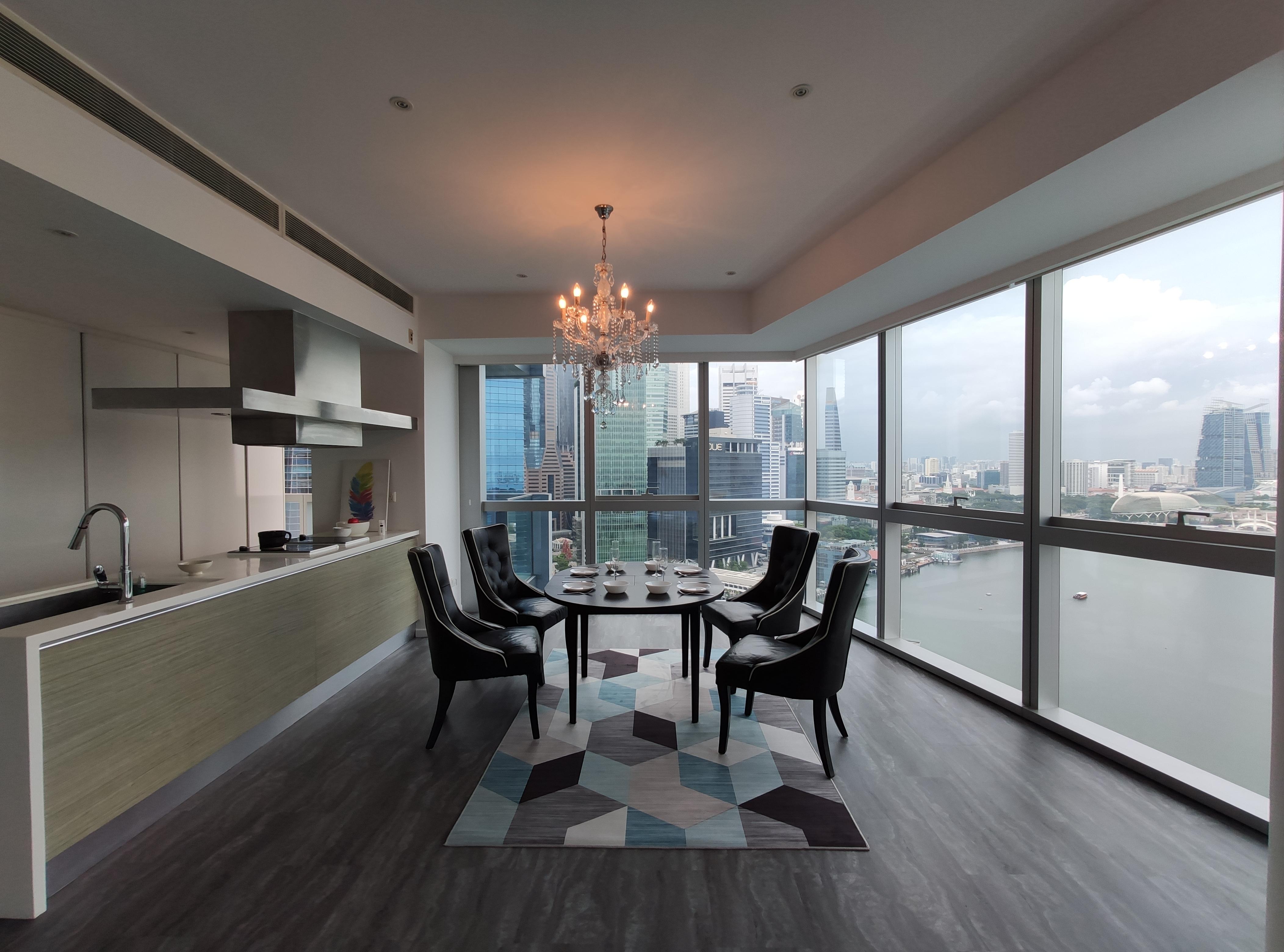 Marina Bay Residences | Dining Room
