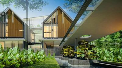 For Sale - Brand New and Luxury with Private Lift, Swimming Pool and Basement, Freehold Bungalow @ prime D10