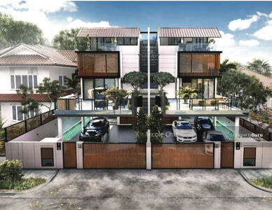 For Sale - ⭐️ Brand new pair freehold Aida Street semi detached with pool & lift ⭐️ 9ine Residence ⭐️