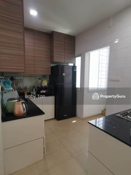 Enclosed Kitchen Area