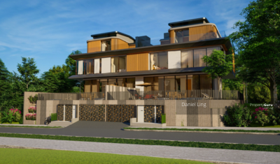 For Sale - Luxurious Brand New SemiD within 1Km to RGPS, with Home Lift, Swimming Pool, Park 4 cars @ Bt Timah