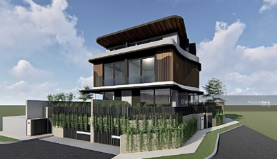 For Sale - Luxurious Brand New Villa (SemiD) with Home Lift, Car Porch for 4 cars @ Hua Guan.