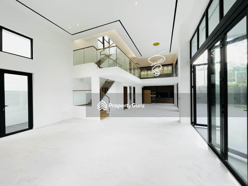 For Sale - Brand New/Luxury Bungalow, Lift/huge Basement, 6 Bedrooms Ensuite, walk to Kovan MRT/Heartland Mall