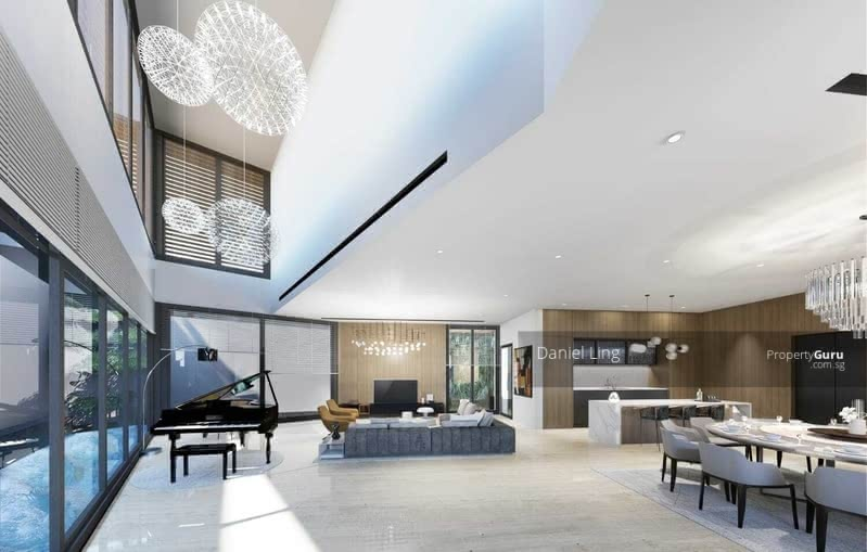 Luxurious Brand New SemiD within 1Km to ACS(Barker) & CHIJ(TP), Home Lift, Swimming Pool @ Dyson #130362606