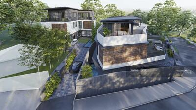 For Sale - Luxurious Brand New Bungalow within 1Km to ACS(Barker) & CHIJ(TP), Home Lift, Swimming Pool @ Dyson