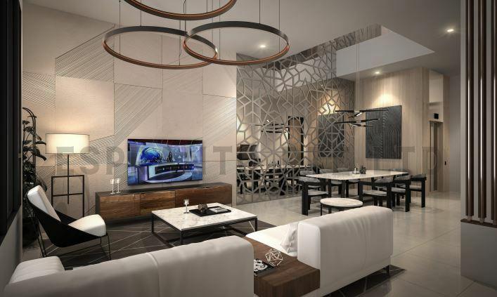 Brand New Modern Terrace House Within Mins Walk To Kovan Mrt Station #130375110