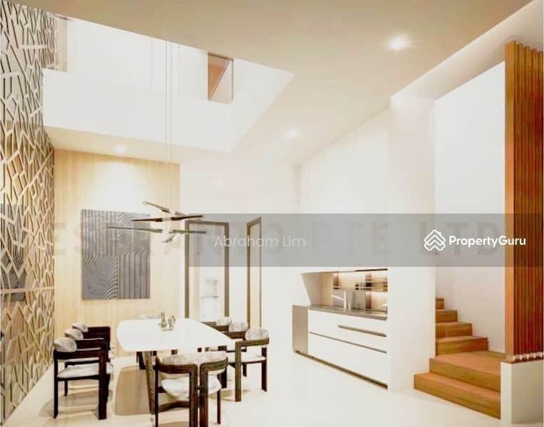 Brand New Modern Terrace House Within Mins Walk To Kovan Mrt Station #130375114