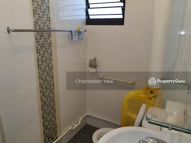 Clean & bright washroom