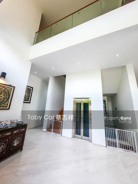 Foyer with Lift and super high ceiling