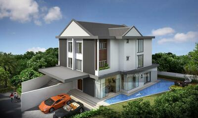 For Rent - Outstanding Semi-Detached House with Swimming Pool. Prime Watten/Shelford Area. Mins to MRT