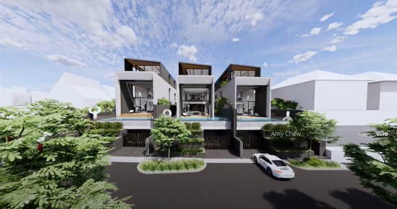 For Sale - Luxurious  Brand New Bungalow with Basement Home Lift and Pool (D10)