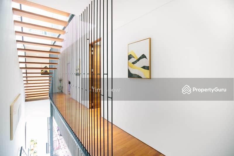 Minimalist Modern style Corner Terrace #130665304
